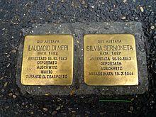 Roma, via Po 162: Laudadio Di Nepi e Silvia Sermoneta