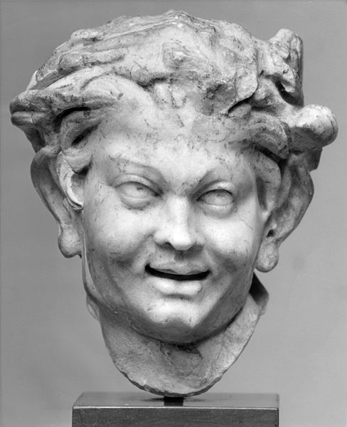 File:Roman - Head of a Satyr - Walters 23129.jpg