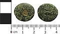 Roman coin, provincial trichalkon, civic issue of Antioch (FindID 816416).jpg