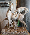 Roman sculpture of a hunting dog with deer.jpg