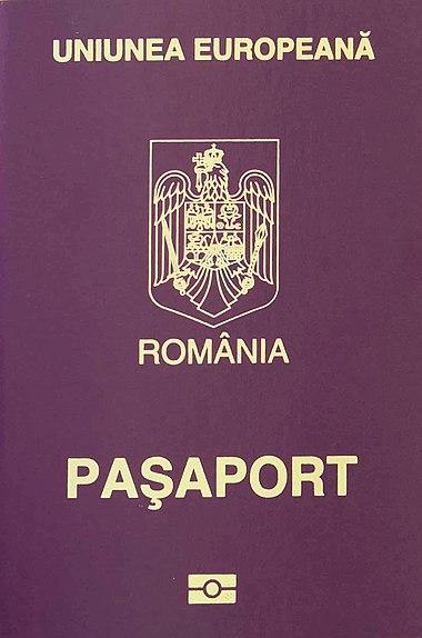 Romanian passport - Wikiwand