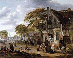 Rombouts, Salomon - A Village Street Scene.jpg