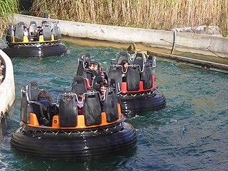 Parc Astérix - Romus et Rapidus, river rafting ride