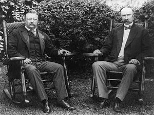 Charles W. Fairbanks - Fairbanks and Theodore Roosevelt.