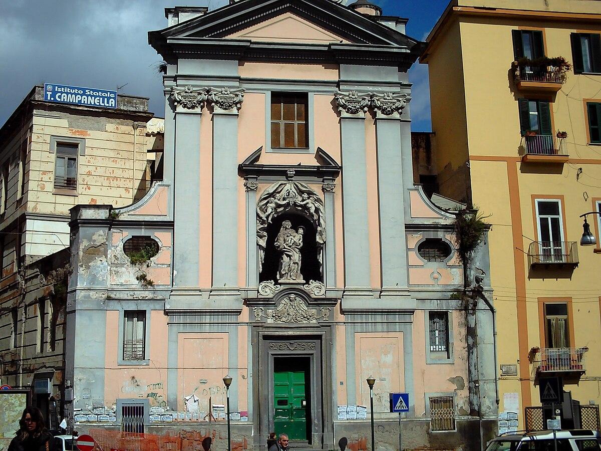 alle térkép Santa Maria del Rosario alle Pigne (Nápoly) – Wikipédia