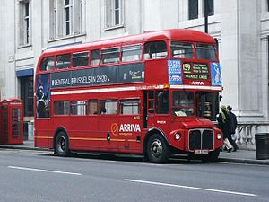 London Buses route 159 - Arriva London AEC Routemaster in March 2004