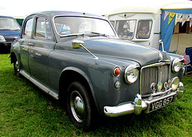 All Different Cars >> Rover P4 - Wikipedia
