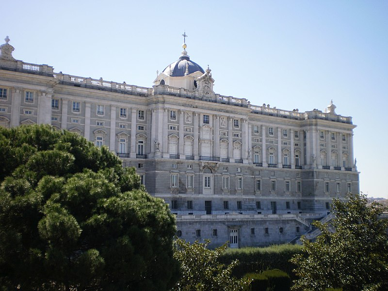 Palacio Real de Madrid (año 1892)