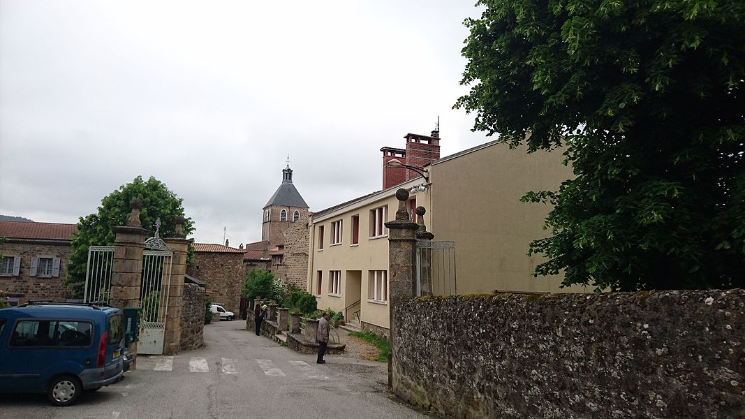 Rue de Saint Félicien en Ardèche