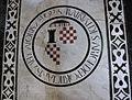 S. croce, tomba sul pavimento 91 portigiani.JPG