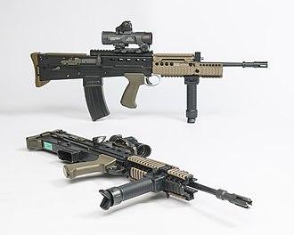 SA80 - Image: SA80 A2 (L85A2) 5.56mm Rifle MOD 45162138