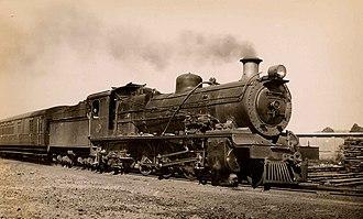 South African Class 16C 4-6-2 - Class 16C no. 825, as built, with Belpaire firebox