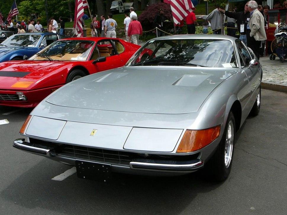 SC06 Ferrari Daytona Coupe silver