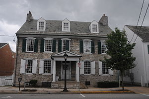 Shippen House - Image: SHIPPEN HOUSE, SHIPPENSBURG, CUMBERLAND COUNTY