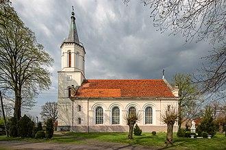 Brunów, Polkowice County - Exaltation of the Holy Cross Church