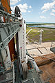SS Endeavour STS134 on launch pad.jpg