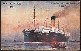 SS <i>Haverford</i> transatlantic liner