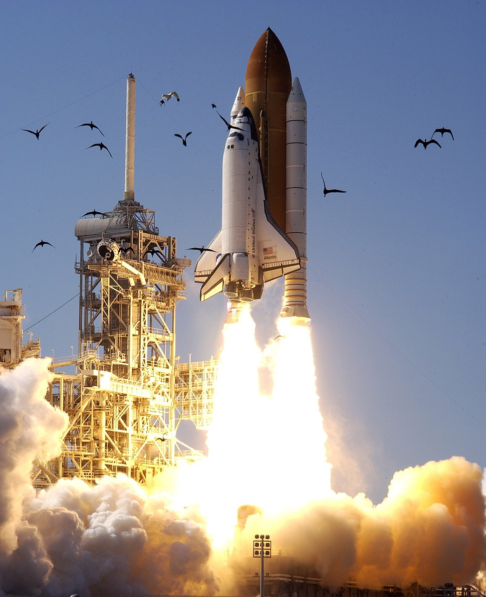 STS-110 Launch