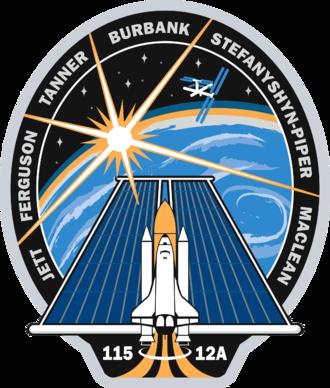 Christopher Ferguson - Image: STS 115 patch