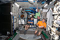 STS-130 Terry Virts, Nicholas Patrick and Stephen Robinson in the ISS Tranquility node.jpg