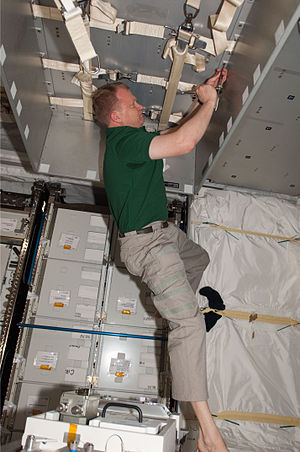 Eric Boe - Boe working aboard the International Space Station during the STS-133 mission.