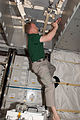 STS-133 ISS-26 Eric Boe works in the newly-installed PMM Leonardo.jpg