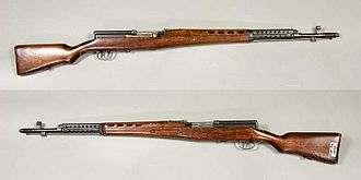 SVT-40 - SVT-40 without magazine from the collections of Armémuseum, Stockholm, Sweden