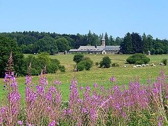 Saint-Hubert, Belgium - The Benedictine monastery of Our Lady of Hurtebise (near Saint-Hubert)
