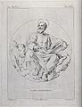 Saint Luke. Etching by A. Mannelli after P. Guglielmi after Wellcome V0032567.jpg