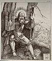 Saint Sebaldus. Engraving by H.S. Beham, 1521. Wellcome V0032976.jpg