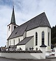 Saints Peter and Paul Church (Filzmoos) from SE.jpg
