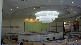 Regional council of Grand Est - Image: Salle du Conseil régional 355