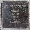 Salzburg - Elisabeth-Vorstadt - Südtirolerplatz Stolpersteine Hauptbahnhof - Jan Wladislaw Kowal.jpg