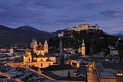 Salzburg - Panorama (nachts)2