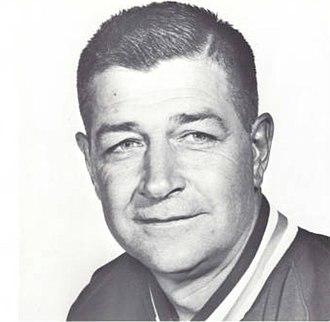 Sam Aubrey - Aubrey from the 1971 Redskin