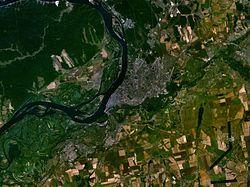 Δορυφορική φωτογραφία της Σαμάρα