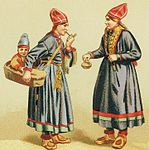 Sami women child costumes Sweden 1880.jpg