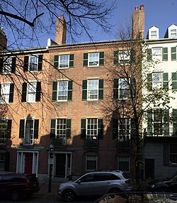 Samuel Gridley and Julia Ward Howe House Boston MA.jpg