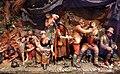 Samuel percy, scena rustica con accampamento di zingari, 1800 ca, cera policroma, 02.jpg