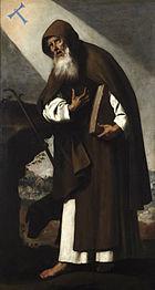 San Antonio Abad (Zurbarán)