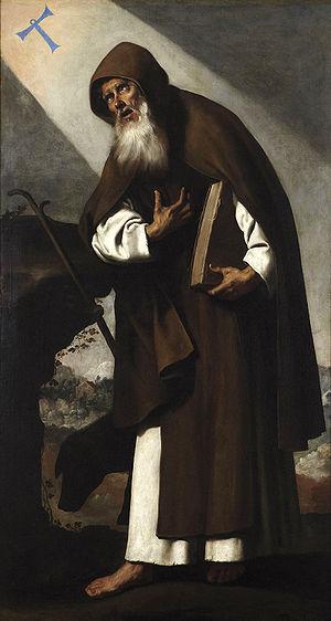 17 janvier : Saint Antoine le Grand 300px-San_Antonio_Abad_(Zurbarán)