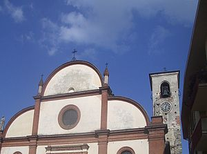 San Giorgio Canavese - Parish church.