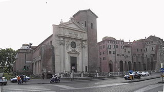 San Nicola in Carcere church building in Rome, Italy