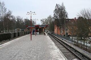 Sandsborg metro station Stockholm Metro station