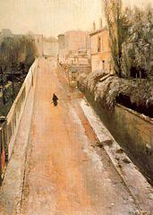 Rue Norvins. Montmartre