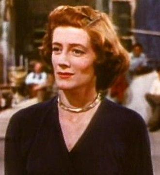 Sarah Churchill (actress) - Sarah Churchill in Royal Wedding (1951)