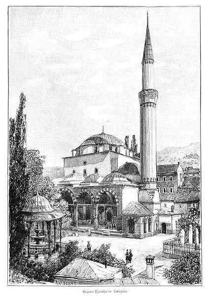 File:Sarajevo Begova Mosque 1900.jpg