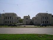 The National Museum of Bosnia and Herzegovina, in Sarajevo.