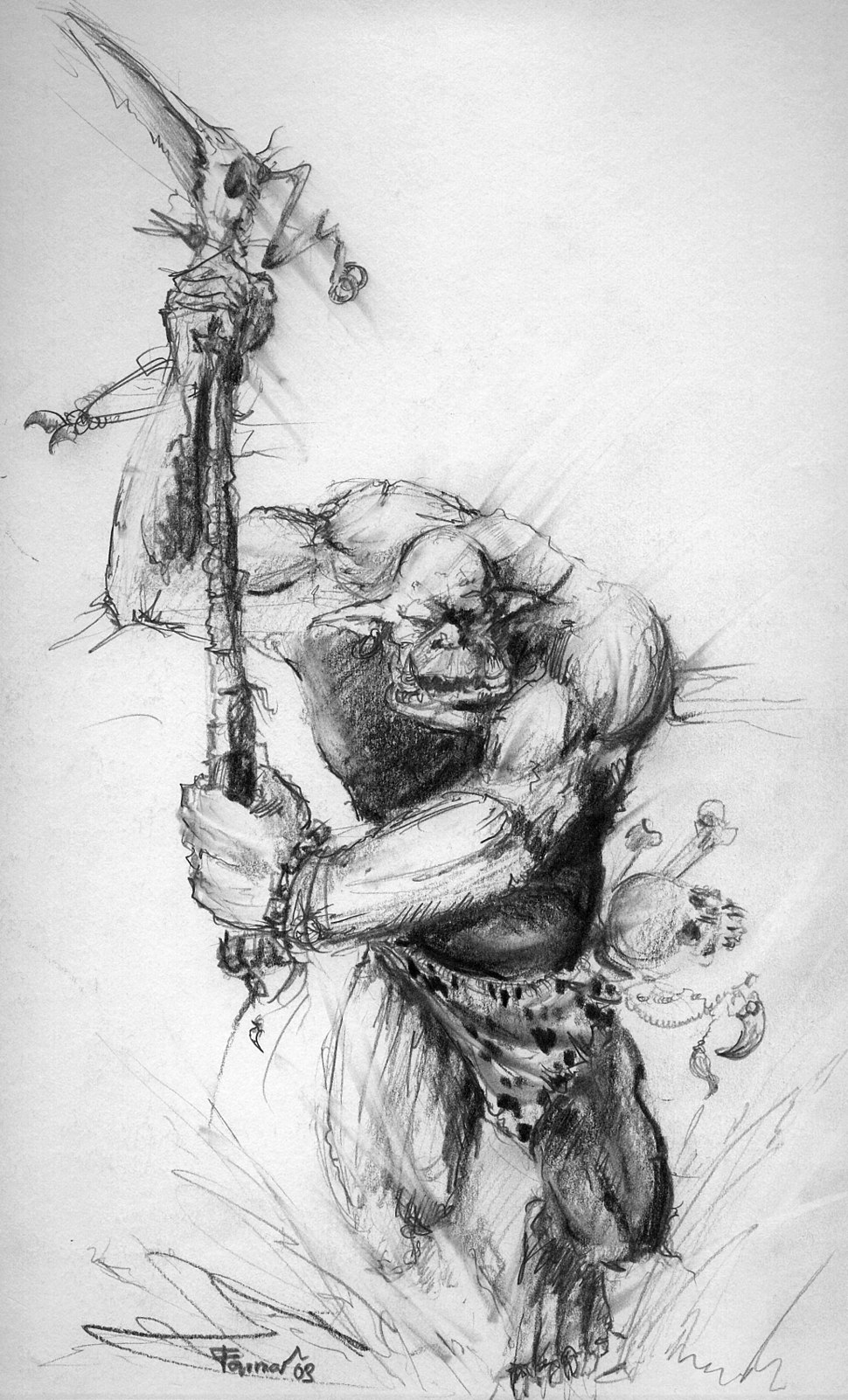 Savage Orc by farmerownia
