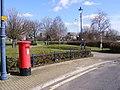 Saxham Road George V Postbox - geograph.org.uk - 1732106.jpg